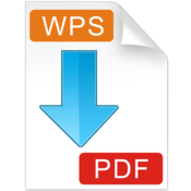 WPS to PDF