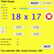 Math Tables 1.0