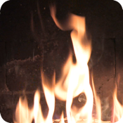 Fireplace Plus 1.0 fireplace animated screensaver