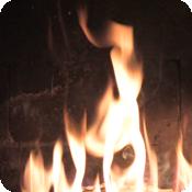 Fireplace Plus 1.0 fireplace animated screensaver