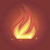 Fireplace 1.0 fireplace animated screensaver