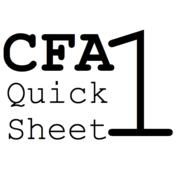 CFA 1 Quick Sheet