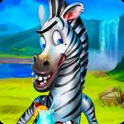 Odd One Out Zebra Free