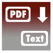 Pdf to Plain Text + Rtfd