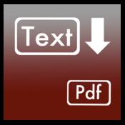 Plain Text + Rtfd to Pdf