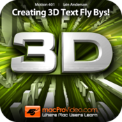 MPV`s Motion 5 401 - Creating 3D Text Fly Bys!