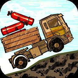 Doodle Truck - Bad Road Race