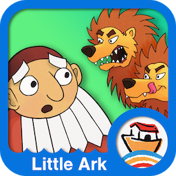 Daniel in the Lion`s Den - Little Ark Interactive storybook in English
