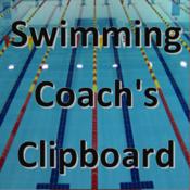 Swimming Coach`s Clipboard