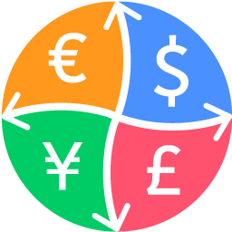 Currency Converter: Convert the world`s major currencies with the most updated exchange rates