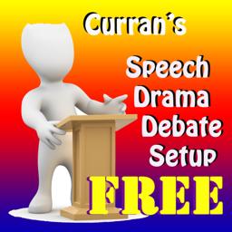 Currans Speech Drama Debate Setup FREE