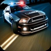 Police Chase Desert Race Pro