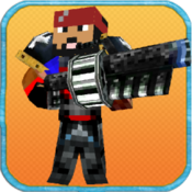 Pixel Warrior 3D - Multiplayer Battle Arena with Skins Builder for MineCraft