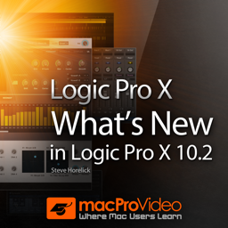 Course For What`s New In Logic Pro X 10.2