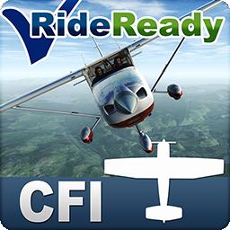 RideReady CFI Certfied Flight Instructor Airplane FAA