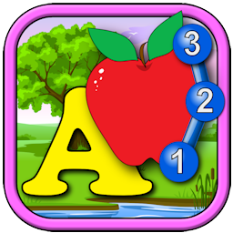 Kids ABC and Counting Connect the Dot Puzzles - learn the alphabet, counting, shapes and numbers for toddlers