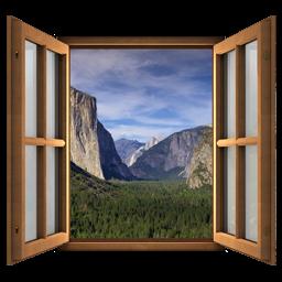 Magic Window - Yosemite National Park