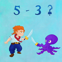 Pirate Sword Fight - Fun Educational Counting Game For Kids - LITE VERSION