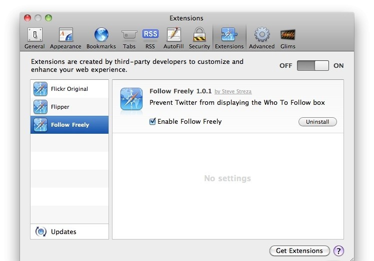 Follow Freely 1.1.1