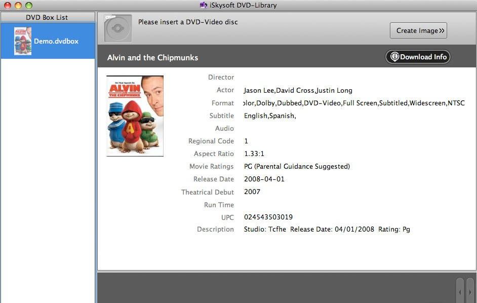 iSkysoft DVD-Library 2.0.1