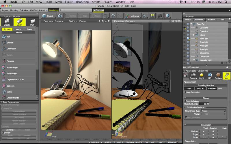 shade 3d download app mac klecool. Black Bedroom Furniture Sets. Home Design Ideas
