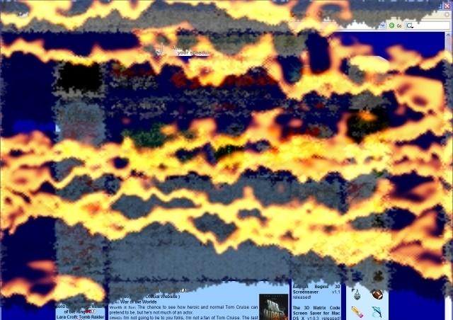 Desktop Screensaver 1.0