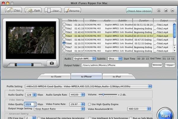 WinX iTunes Ripper 2.0