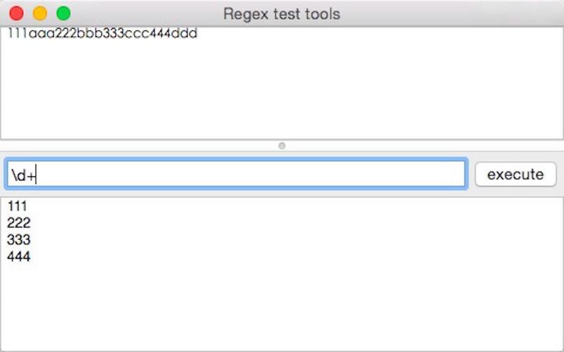 regexTools