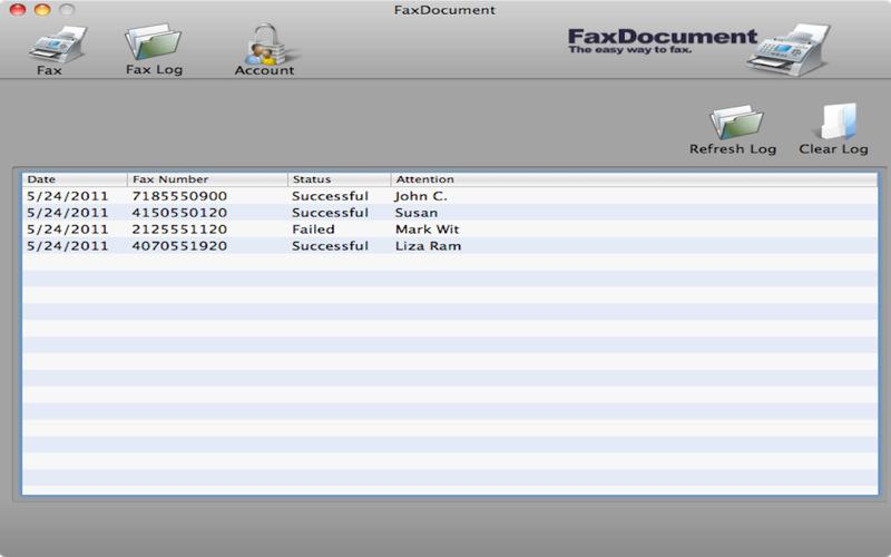 FaxDocument 1.0d
