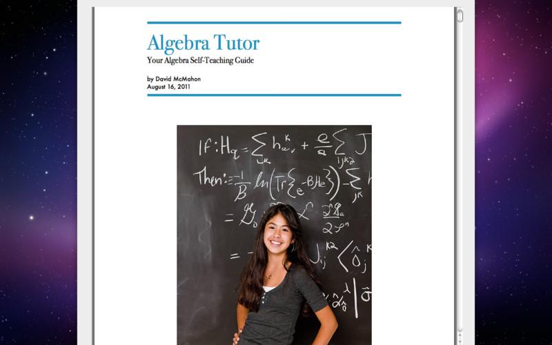 AlgebraTutor