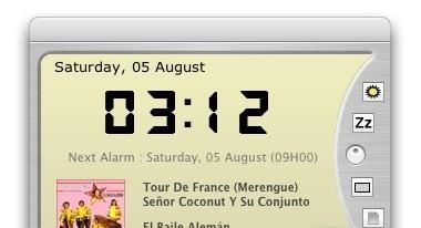 iTaf 2.2.3 alarm clock