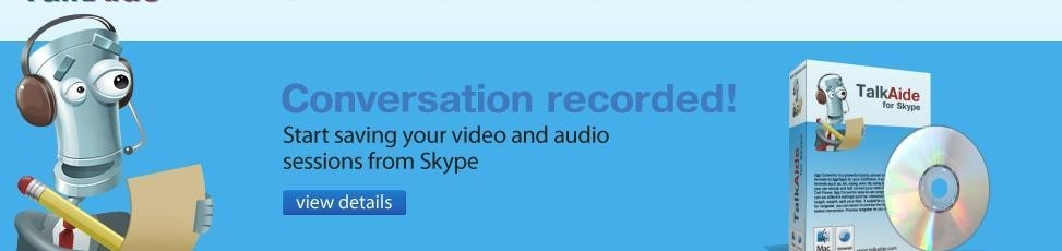 TalkAide for Skype 1.2