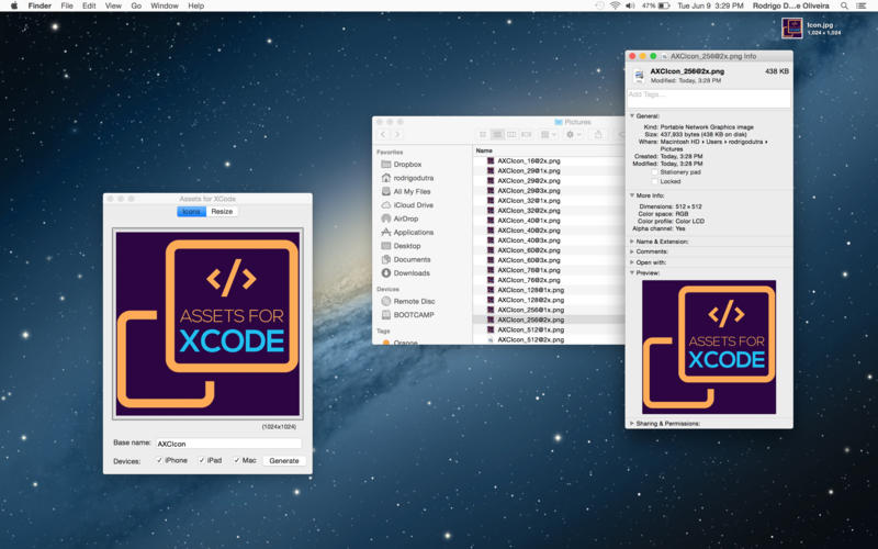 Assets for XCode