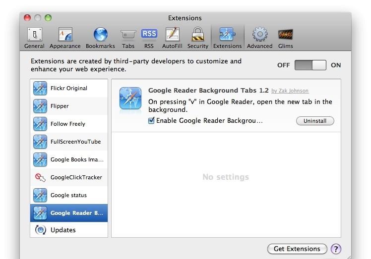 Google Reader Tools 1.0