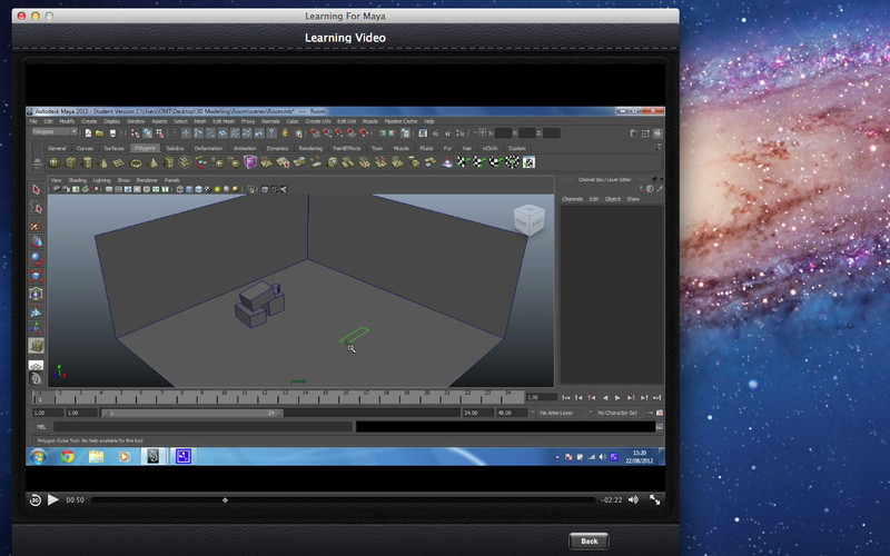 Learning For Maya