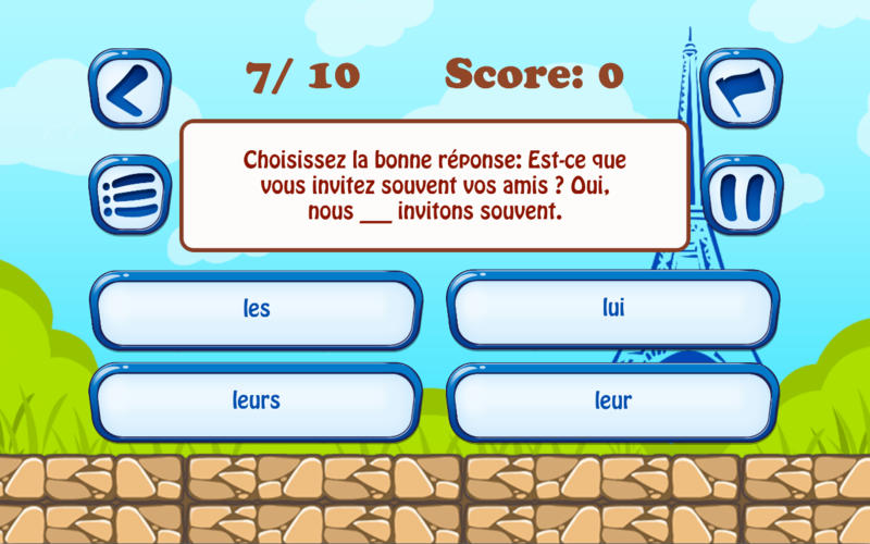 Test Your French Pro