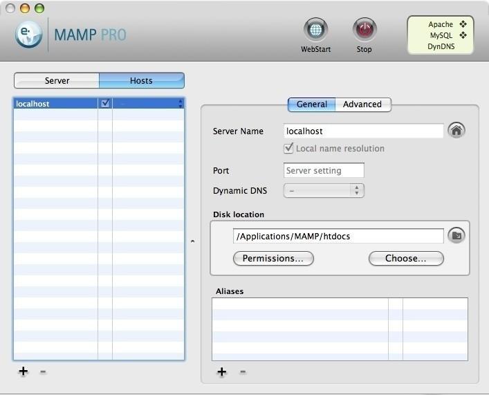 MAMP Pro 1.9.6.1