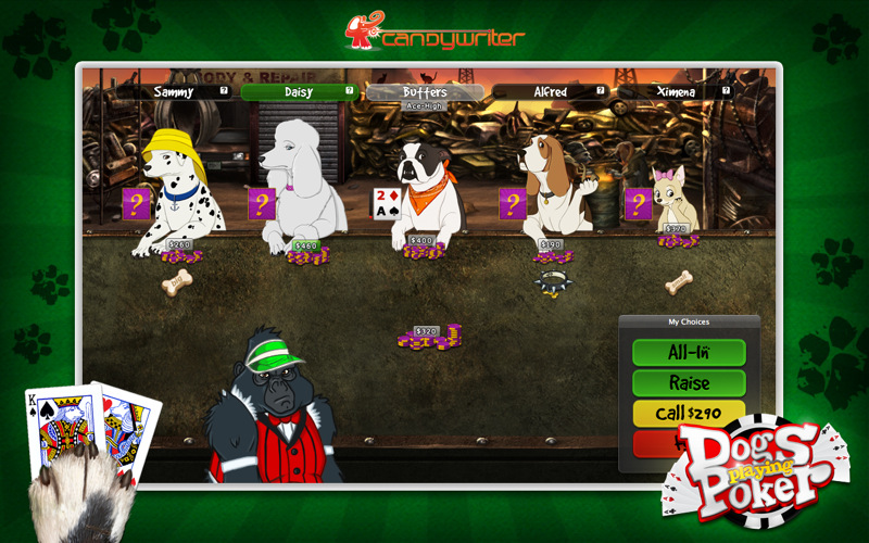 dogs playing poker game download windows