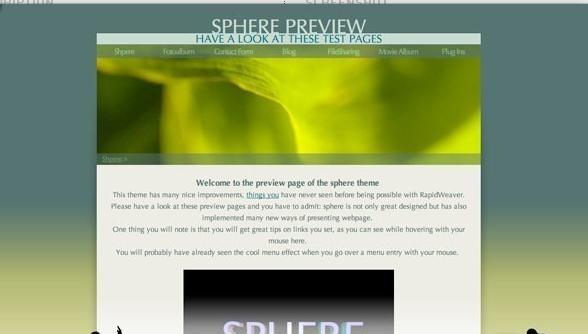 Sphere Theme 1.3.0