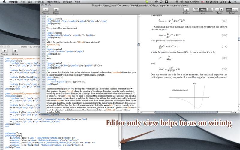 Texpad : LaTeX Editor Download App Mac