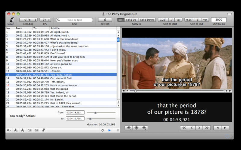 Subtitles theEditor