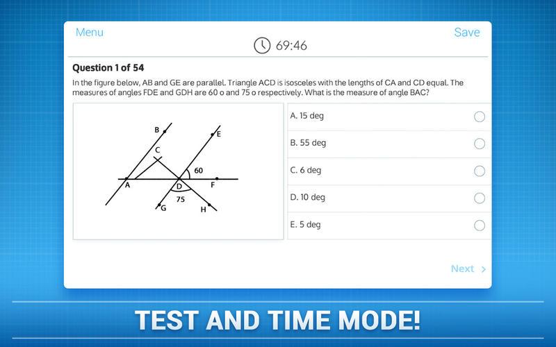 SAT Exam - Mathematics