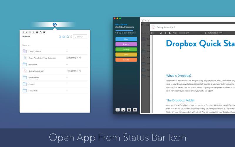 DropLite for Dropbox