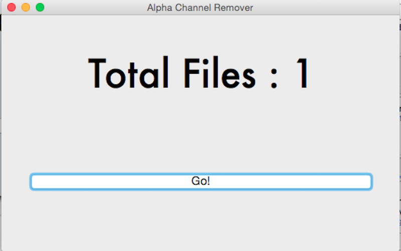 Alpha Channel Remover