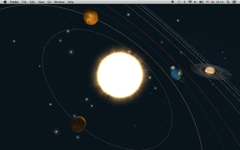 Planets -- Live Wallpaper Download App Mac   LisiSoft