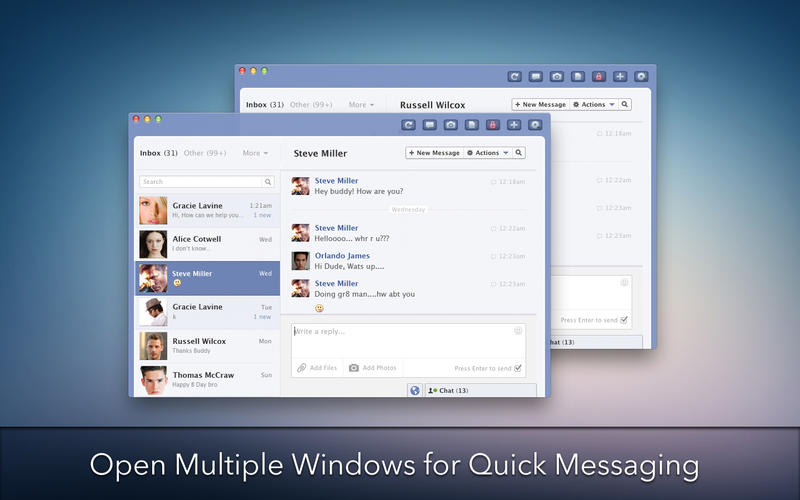 MessagePro for Facebook