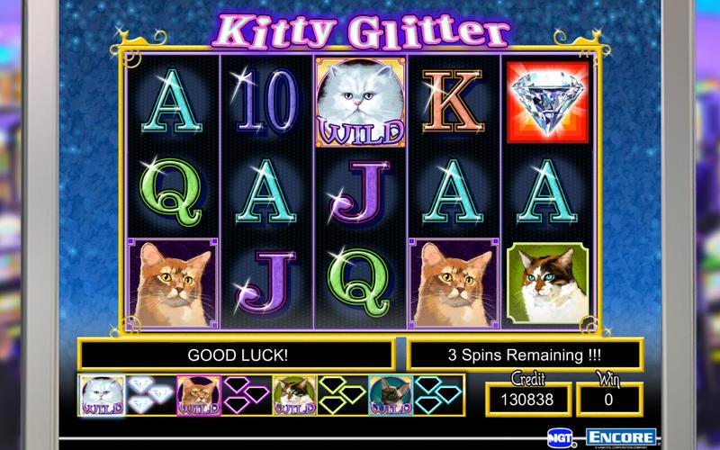 Free slot machine kitty glitter