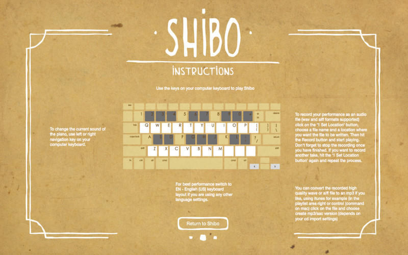 Shibo The Keyboard Piano free download current version