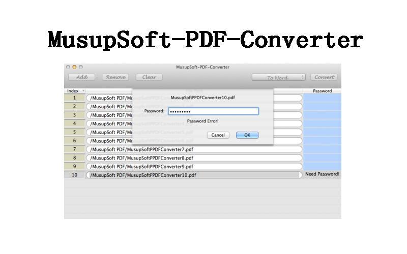 MusupSoft-PDF-Converter
