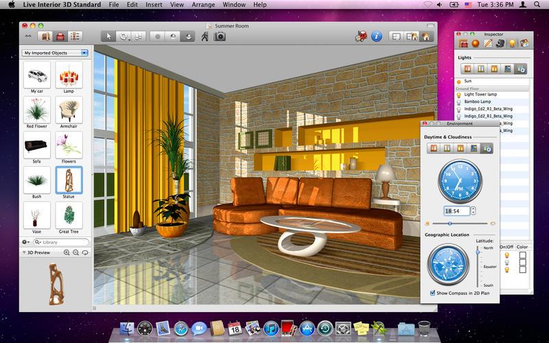 Live interior 3d standard edition download app mac lisisoft for App progettare casa